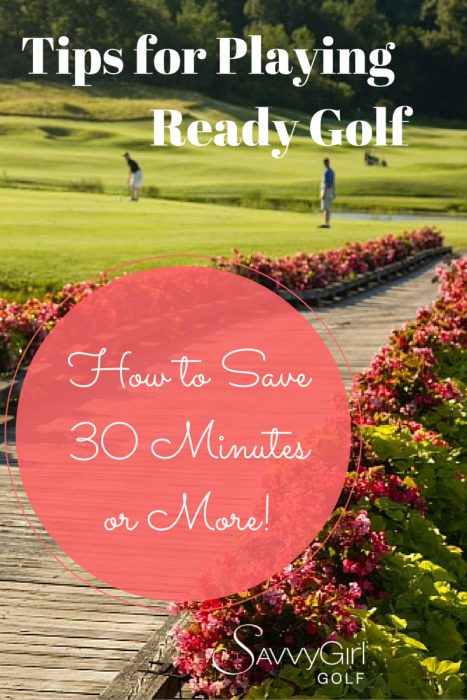 """Tips for playing """"ready golf."""""""