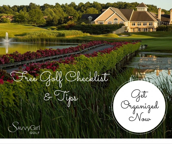 Free Golf Checklist & Tips